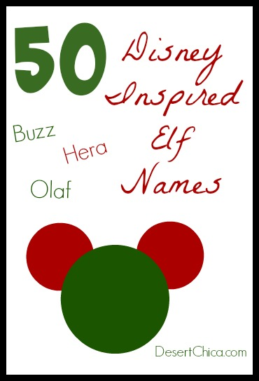 DIsney Elf Names