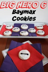 Easy DIY Big Hero 6 Baymax cookies