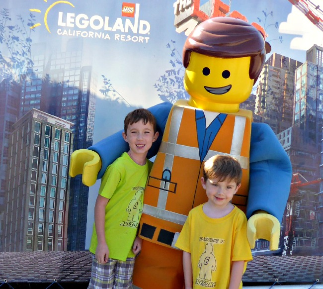 Everything Is awesome shirt at legoland