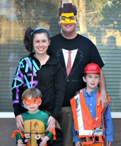Our LEGO Movie Costumes Halloween 2014