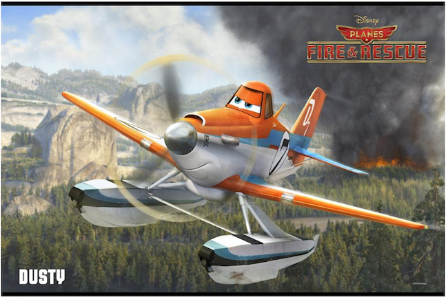 Dusty Planes #FireandRescue #DisneyInHomeEvent