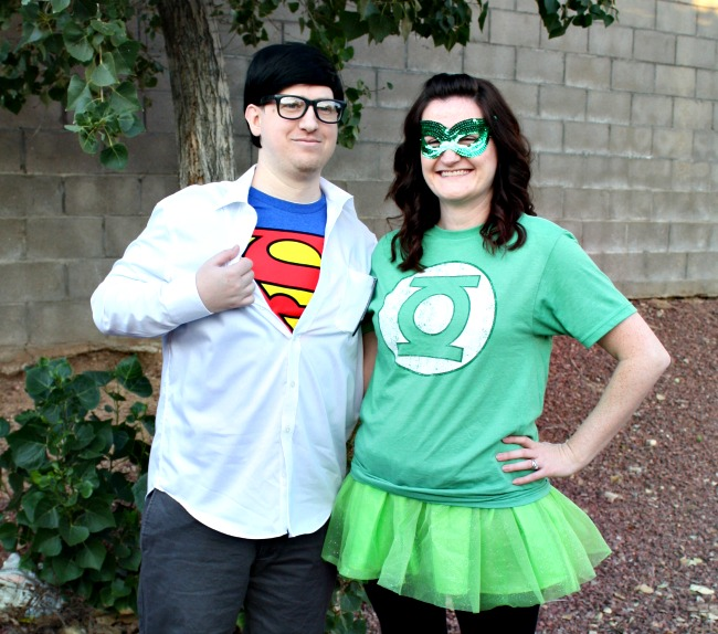 Super Man and Green Lantern