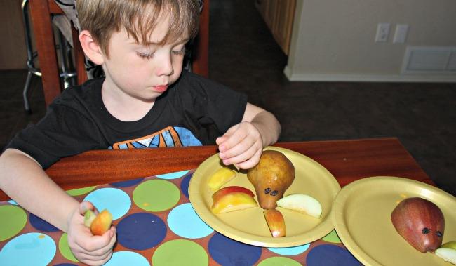 Turkey Pear Apple Kid