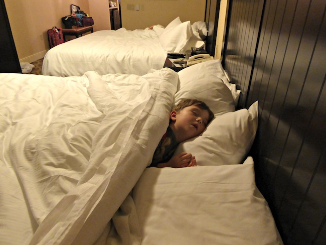 All king beds at West Inn and Suites