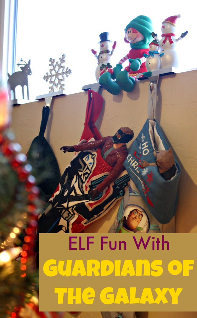 Elf fun with Guardians of the Galaxy