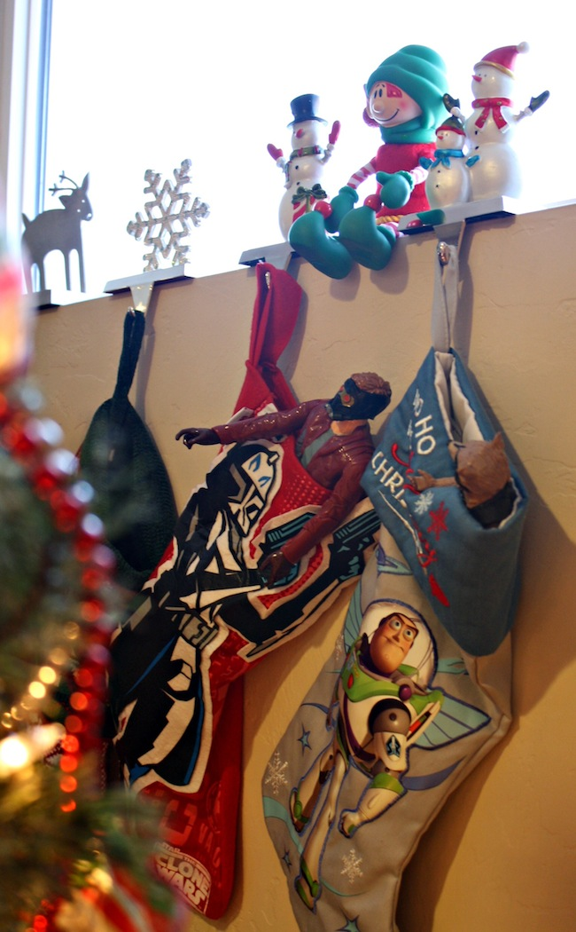 Elf stocking stuffers with Guardians of the Galaxy