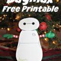 Free Printable Elf Baymax Max
