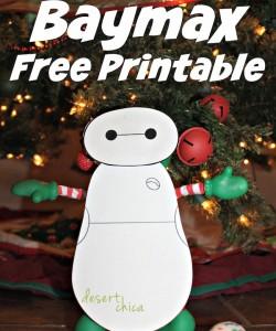Elf on the Shelf Baymax Printables