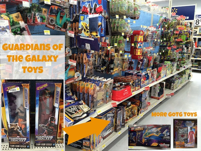 Guardians of the Galaxy Toys at Walmart
