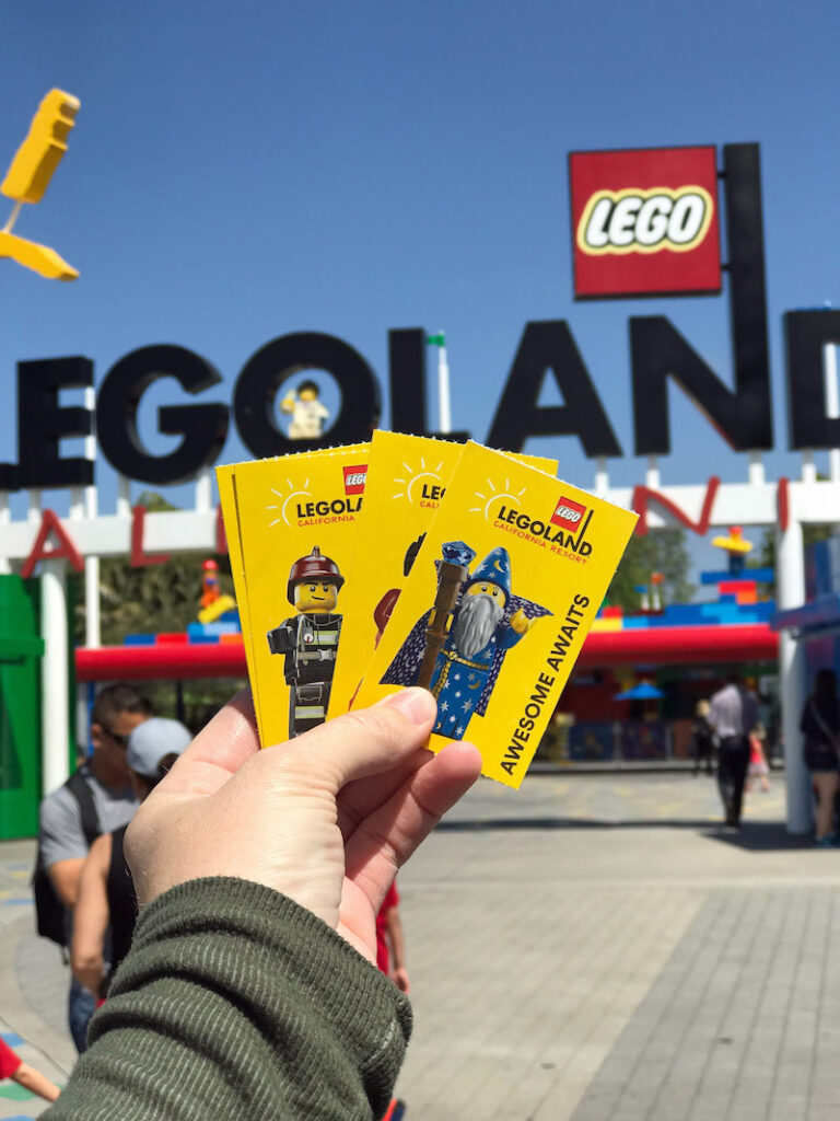 LEGOLAND California is located just steps from LEGOLAND Castle Hotel