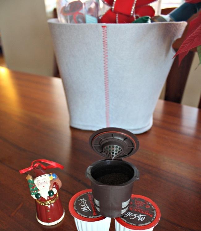 McCafe Ground Coffee Gift Basket Idea