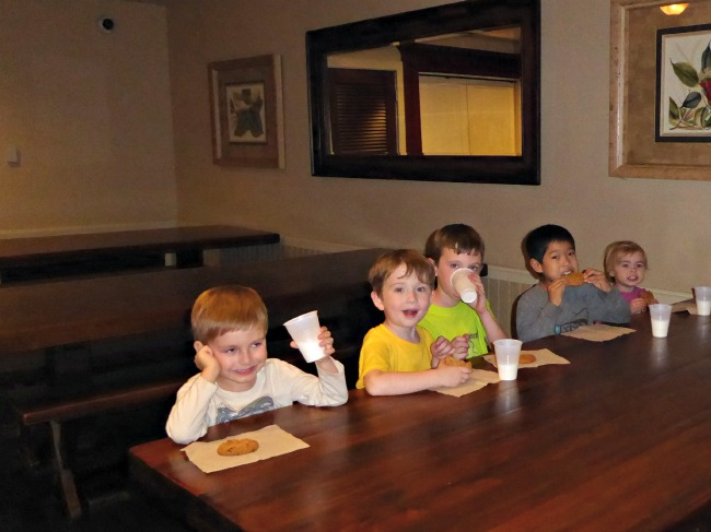 Milk and Cookies at the West Inn and Suites