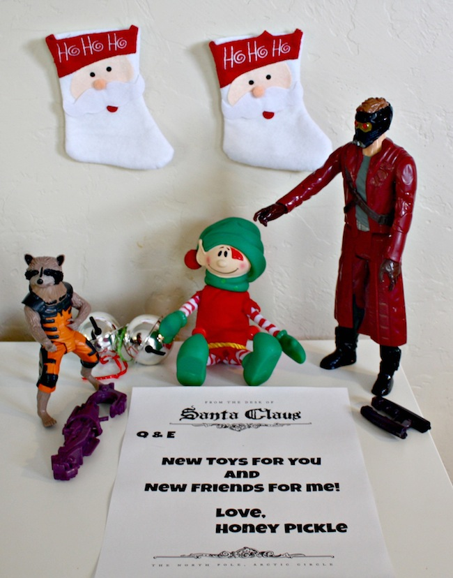 New Toys from Elf Guardians of the Galaxy