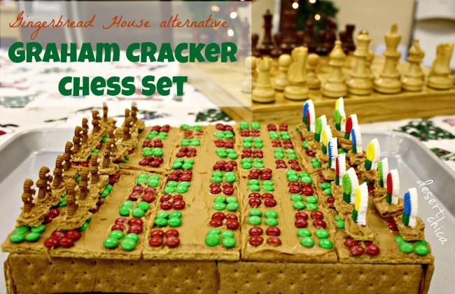 Peanut Butter Christmas Chess Set