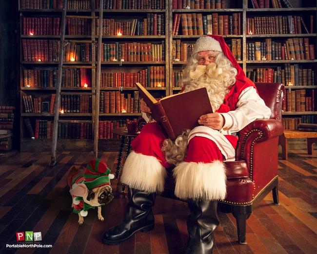 Portable North Pole Santa