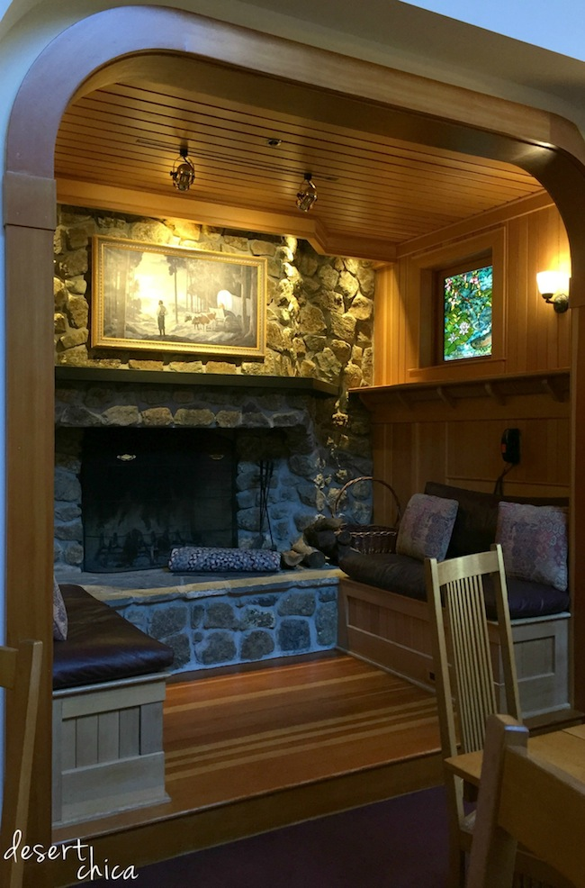Skywalker Ranch Interior Woodwork