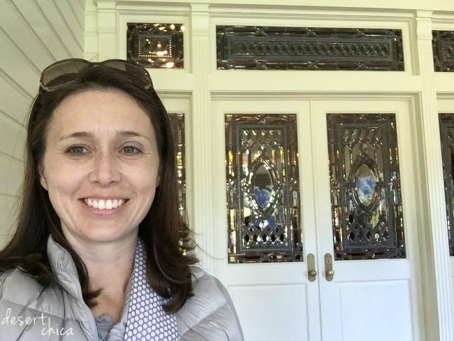 Skywalker Ranch Main House Door