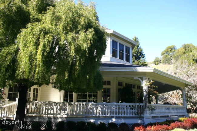 skywalker ranch main house exterior dining