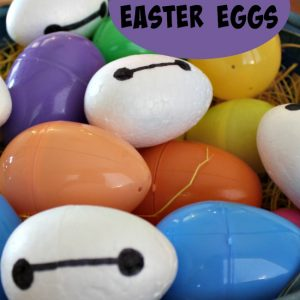 Baymax Easter Eggs