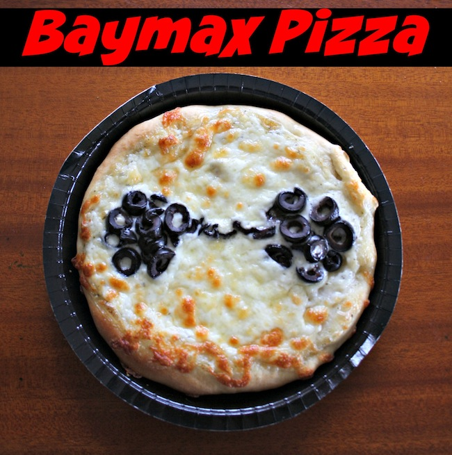 Baymax pizza