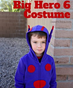 Big Hero 6 Costume: DIY Hiro Sweatshirt