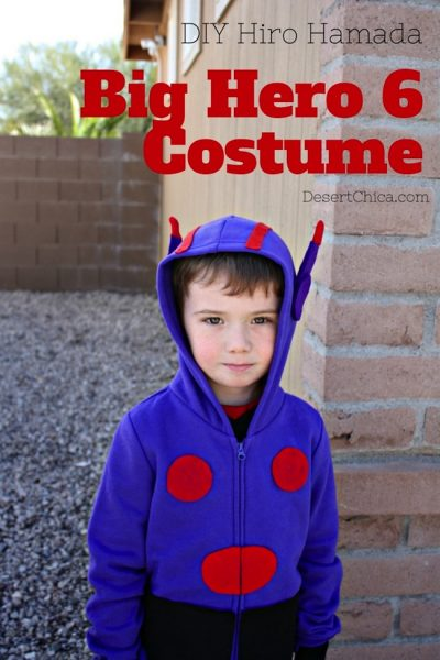 Big Hero 6 Costume: DIY Hiro Sweatshirt