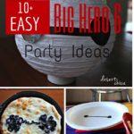 Easy Big Hero 6 Party Ideas