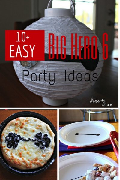 Easy Big Hero 6 Party Ideas