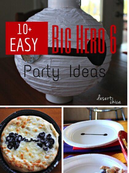 Big Hero 6 Party ideas