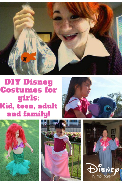 Disney Costumes For Girls Of All Ages!
