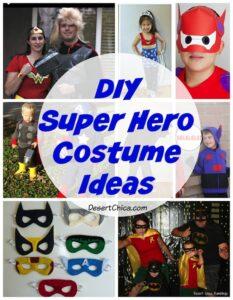 DIY Super Hero Costume Ideas
