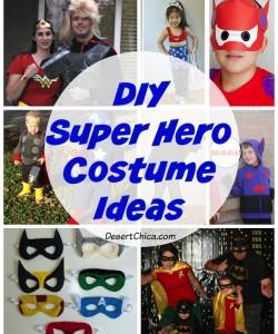 DIY Superhero Costume Ideas