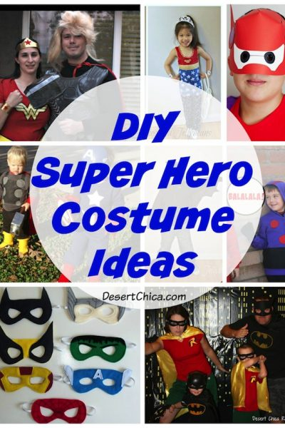 DIY Superhero Costume Ideas
