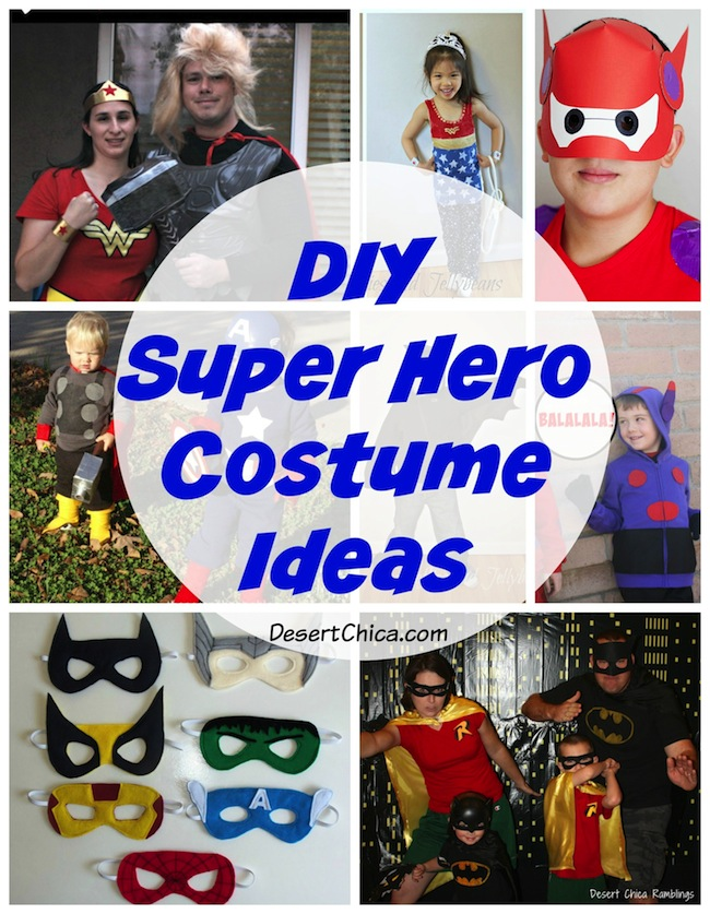 Diy Superhero Costume Ideas Desert Chica