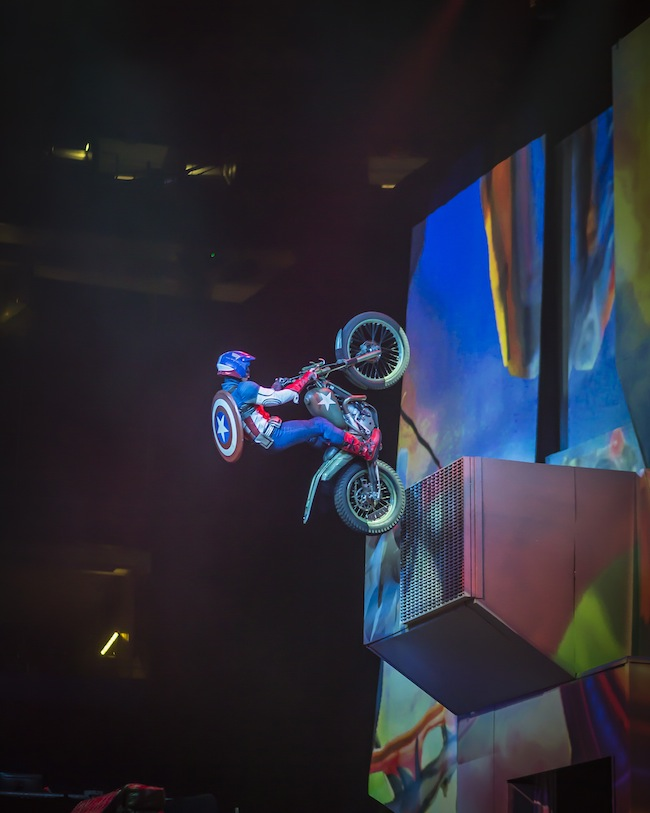 Marvel Live Captain America Motorcycle