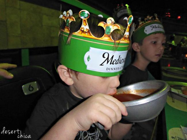 Medieval Times Dragon Soup