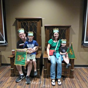 Our Medieval Times Adventure