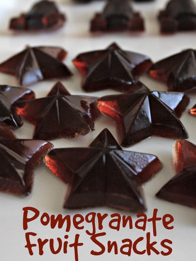 Pomegranate Fruit Snacks