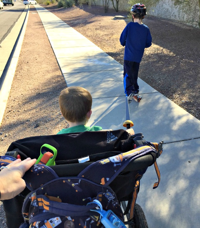 ways to Move more with family walks