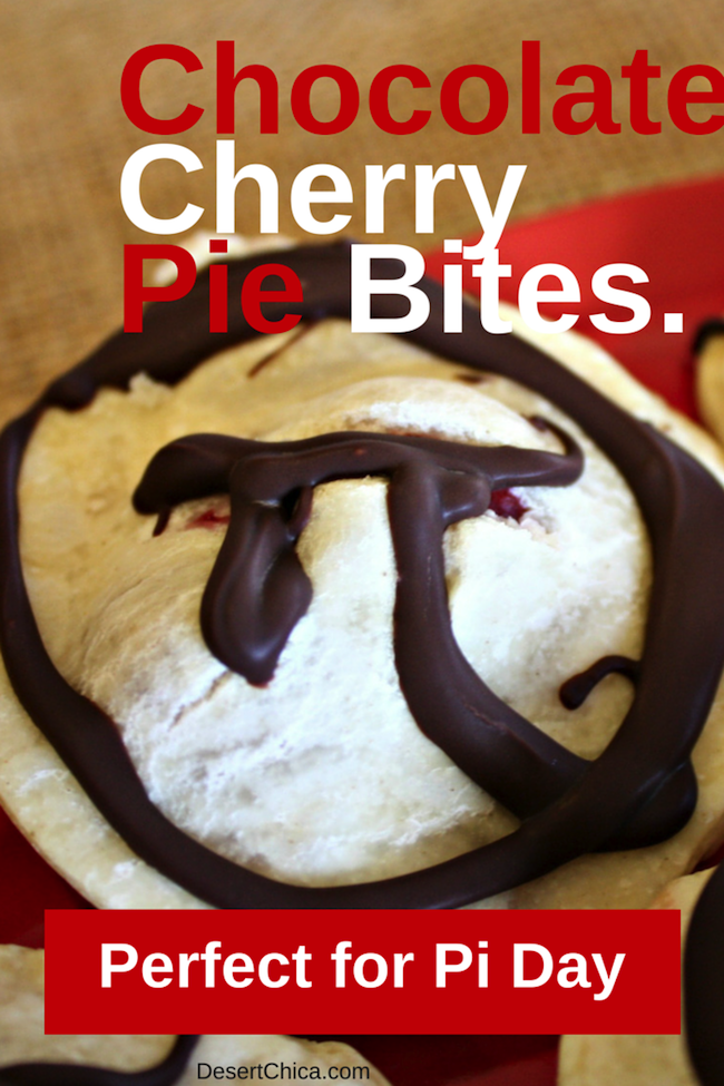 Chocolate Cherry Pie Bites
