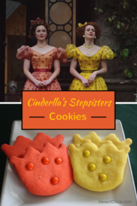 Cinderella's Stepsisters Crown Cookies