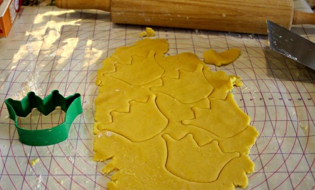 Cinderella's Stepsisters Crown Cookies