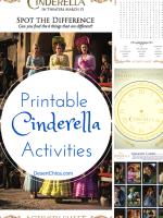Cinderella Printable Activites