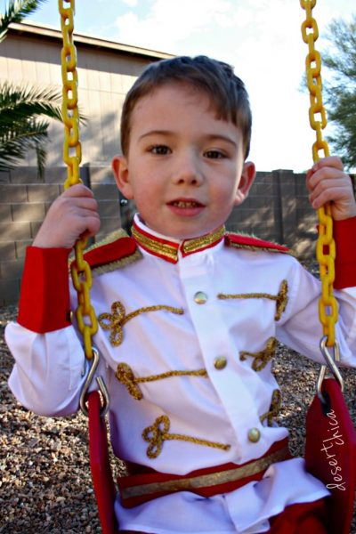 DIY Prince Charming Costume DIY NO Sew Tutorial Ste