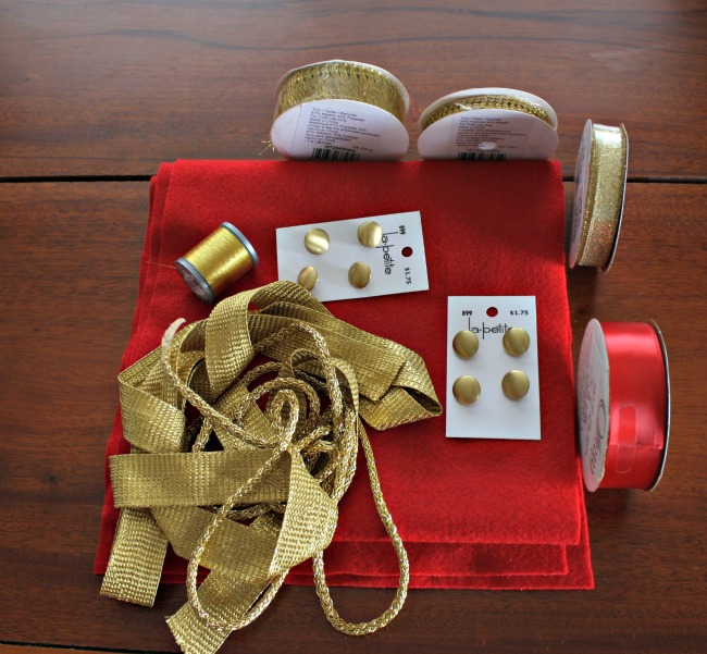DIY Prince Charming Costume Ribbon and Embellishments