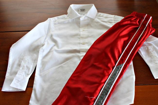 Diy Prince Charming Costume shirt and pants