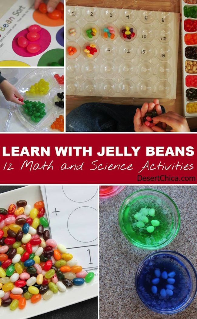 Learning with Jelly Bean Activities
