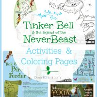 Tinker Bell and the Legend of the NeverBeast Printable Activities