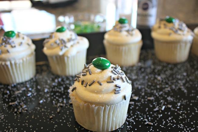 Neverbeast inspired cupcakes