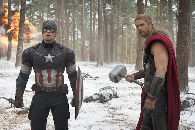Avengers Age of Ultron captain ameria and Thor #Avengers Event